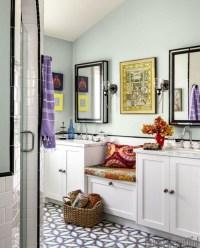 Brilliant Bohemian Style Ideas For Bathroom 12
