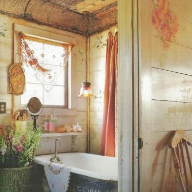 Brilliant Bohemian Style Ideas For Bathroom 16