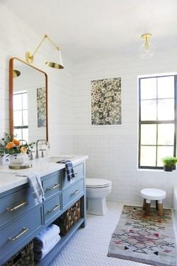 Brilliant Bohemian Style Ideas For Bathroom 18