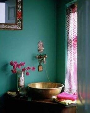 Brilliant Bohemian Style Ideas For Bathroom 24