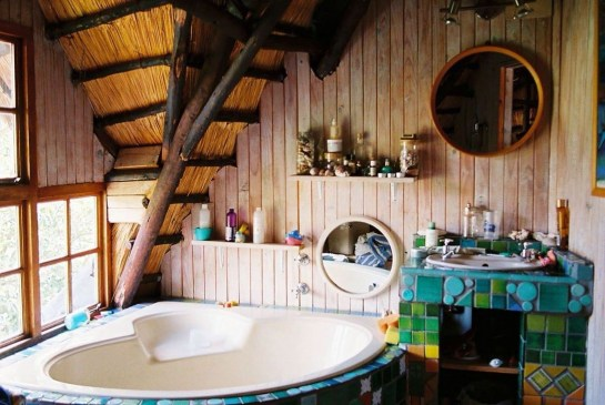 Brilliant Bohemian Style Ideas For Bathroom 25