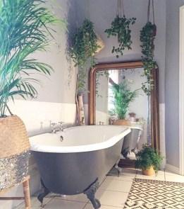 Brilliant Bohemian Style Ideas For Bathroom 27