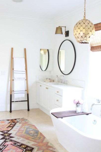 Brilliant Bohemian Style Ideas For Bathroom 53