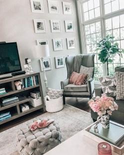 Brilliant Living Room Wall Gallery Design Ideas 12