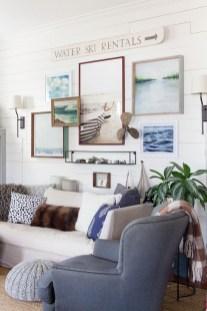 Brilliant Living Room Wall Gallery Design Ideas 13