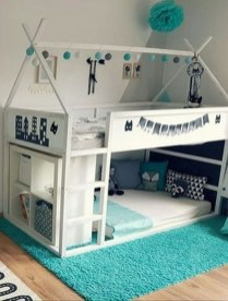 Cool Ikea Kura Beds Ideas For Your Kids Rooms 04