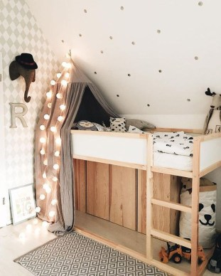 Cool Ikea Kura Beds Ideas For Your Kids Rooms 08