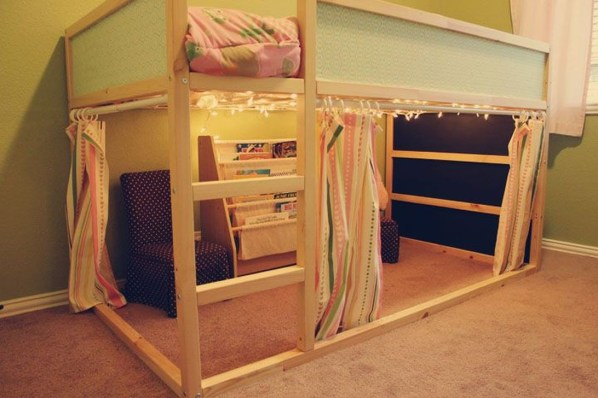 Cool Ikea Kura Beds Ideas For Your Kids Rooms 21