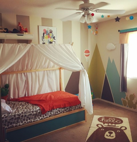 Cool Ikea Kura Beds Ideas For Your Kids Rooms 35