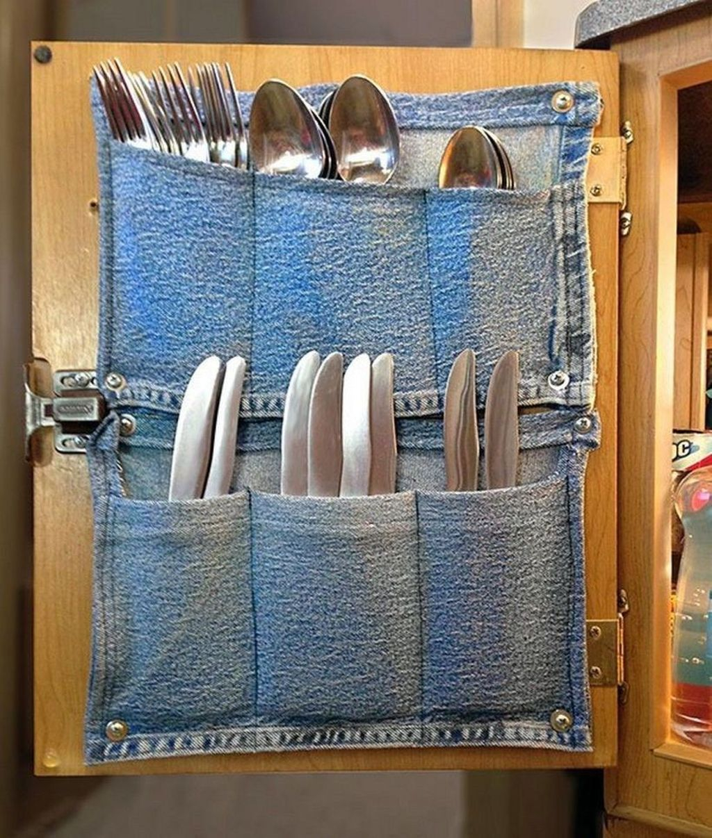 Creative But Simple DIY Camper Storage Ideas 19