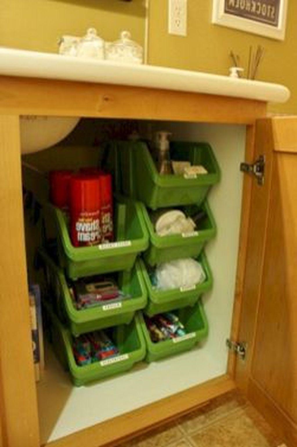 Creative But Simple DIY Camper Storage Ideas 41