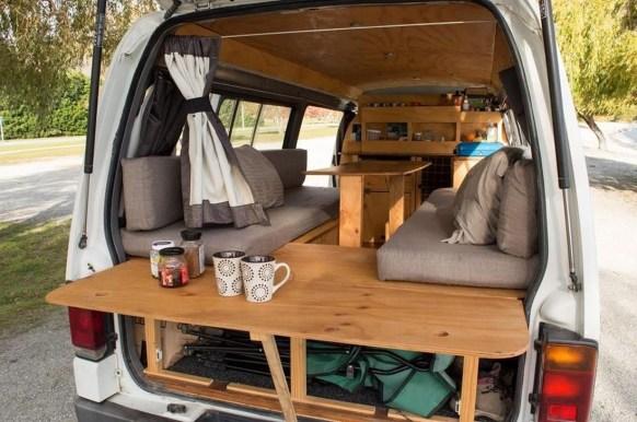Creative But Simple DIY Camper Storage Ideas 42