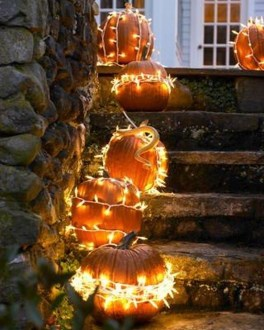 Elegant Outdoor Halloween Decoration Ideas 47