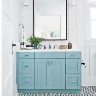 Incredible Bathroom Cabinet Paint Color Ideas 09