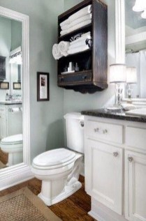 Incredible Bathroom Cabinet Paint Color Ideas 12