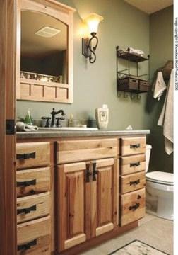 Incredible Bathroom Cabinet Paint Color Ideas 24