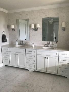 Incredible Bathroom Cabinet Paint Color Ideas 27