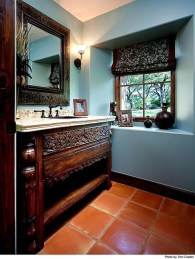 Incredible Bathroom Cabinet Paint Color Ideas 29