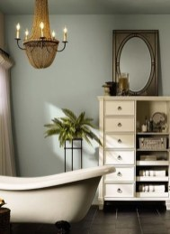 Incredible Bathroom Cabinet Paint Color Ideas 31
