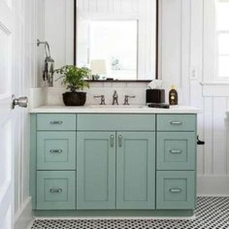 Incredible Bathroom Cabinet Paint Color Ideas 33