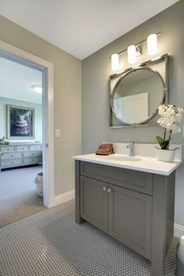 Incredible Bathroom Cabinet Paint Color Ideas 39
