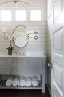 Incredible Bathroom Cabinet Paint Color Ideas 44