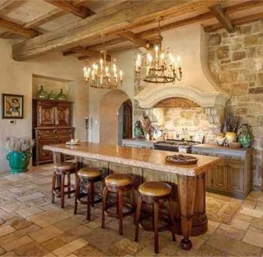 Luxury Tuscan Kitchen Design Ideas 01