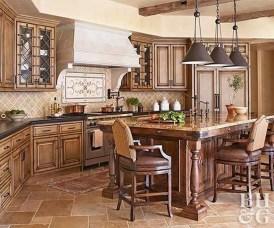 Luxury Tuscan Kitchen Design Ideas 05