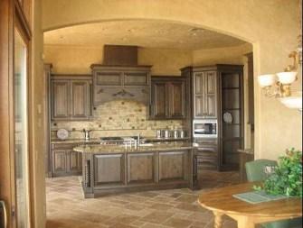 Luxury Tuscan Kitchen Design Ideas 15
