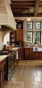 Luxury Tuscan Kitchen Design Ideas 21