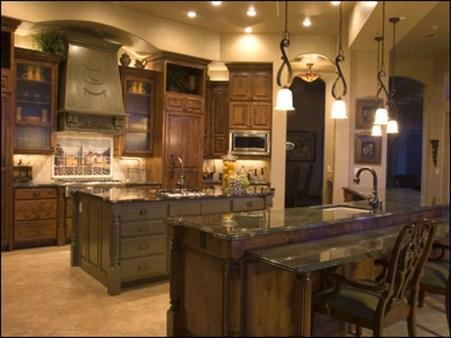 Luxury Tuscan Kitchen Design Ideas 31