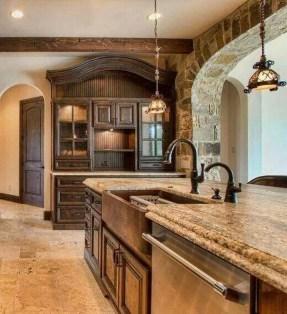 Luxury Tuscan Kitchen Design Ideas 34