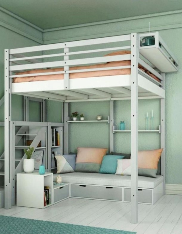 Modern Small Bedroom Design Ideas For Home 53