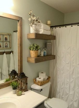 Outstanding DIY Bathroom Makeover Ideas On A Budget 07