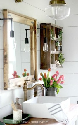 Outstanding DIY Bathroom Makeover Ideas On A Budget 42