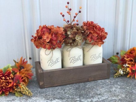 Simple Fall Table Decoration Ideas 42