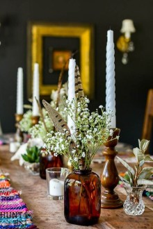 Simple Fall Table Decoration Ideas 43