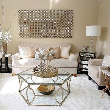 Stunning Living Room Wall Decoration Ideas 15