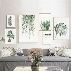 Stunning Living Room Wall Decoration Ideas 52