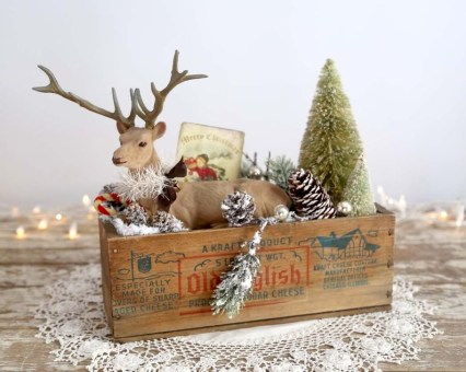Beautiful Vintage Christmas Decoration Ideas 55
