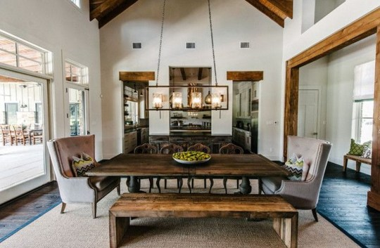 Best Rustic Dining Room Design Ideas 01