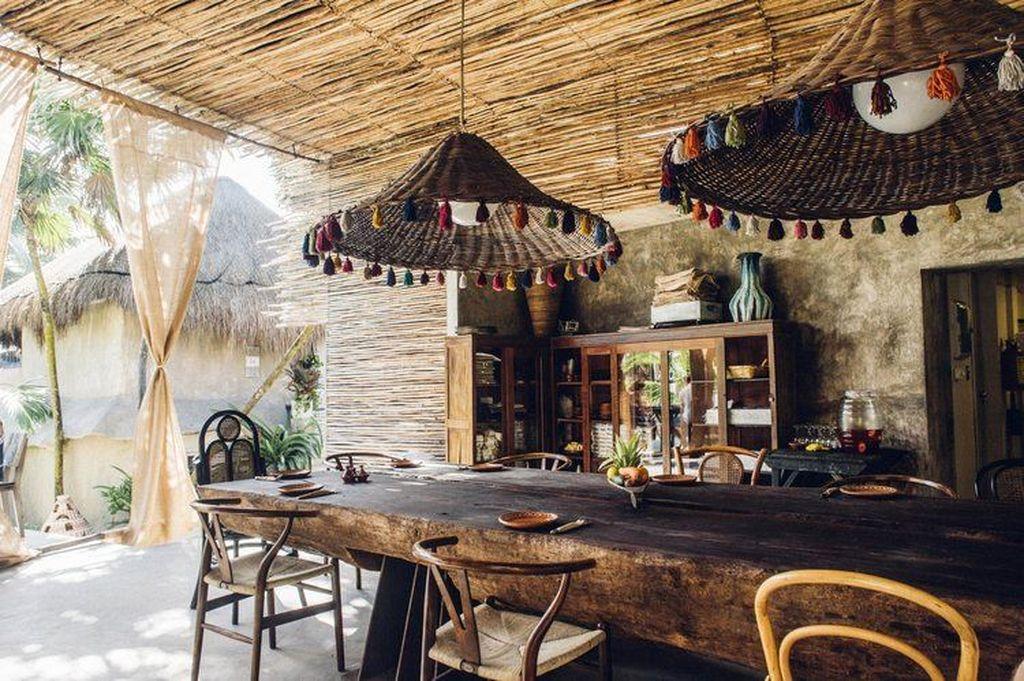 Best Rustic Dining Room Design Ideas 04