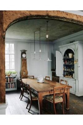 Best Rustic Dining Room Design Ideas 36