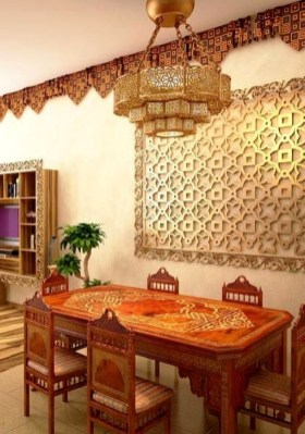 Comfy Moroccan Dining Room Design You Should Try 12