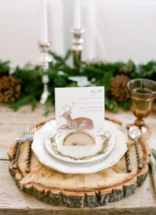 Cozy Rustic Winter Decoration For Your Home 32