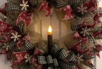 Easy DIY Outdoor Winter Wreath For Your Door 57