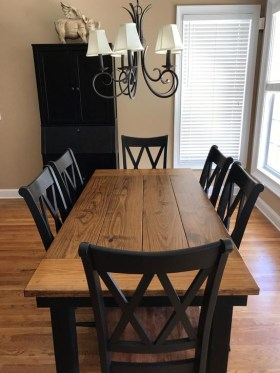 Easy Rustic Farmhouse Dining Room Makeover Ideas 09