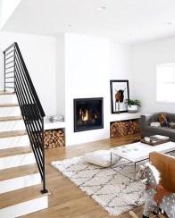 Elegant Scandinavian Living Room Design Ideas 22