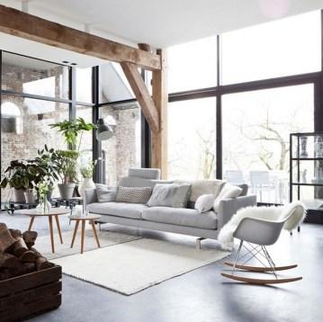 Elegant Scandinavian Living Room Design Ideas 35