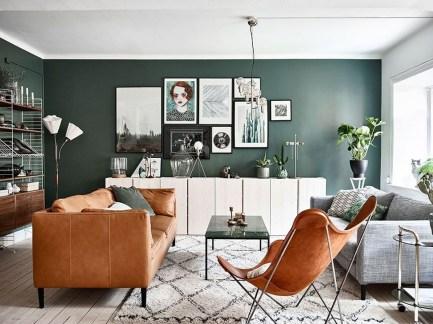 Elegant Scandinavian Living Room Design Ideas 42